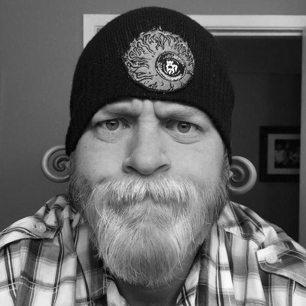Покраска бороды: фото