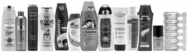 Выбор мужского шампуня